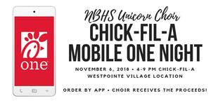 Help raise funds for NBHS Choir Booster Club