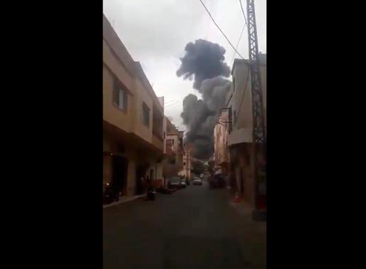 Fuerte explosión sacudió el sur de Líbano