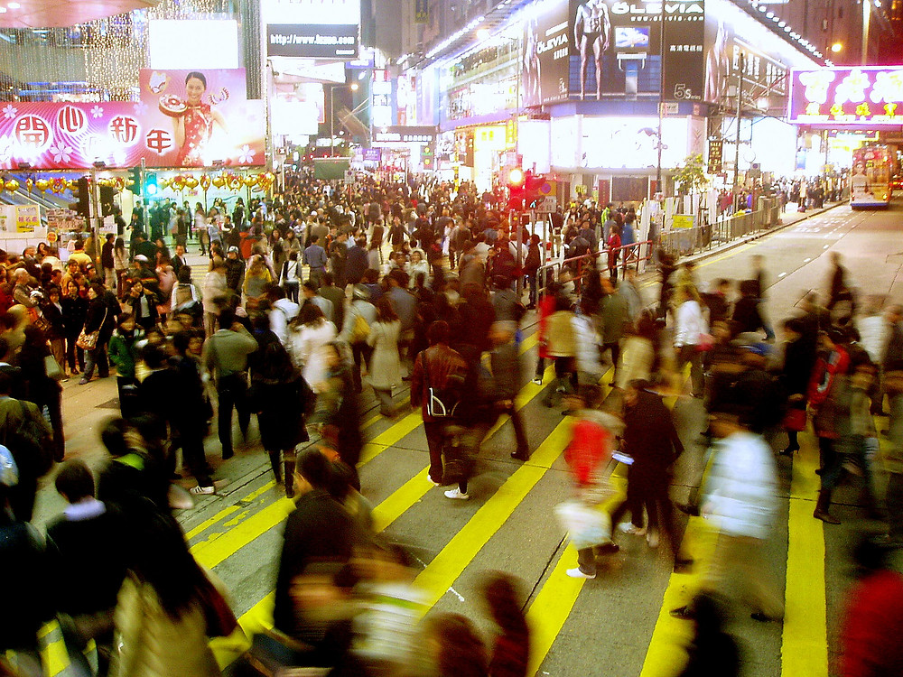 Causeway Bay crossing