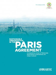 "Informe RECNET para UNHabitat: ""Sustainable Urbanisation in the Paris Agreement"""