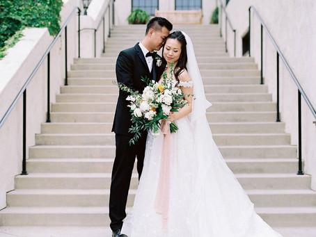 Rachel + Allen's Picturesque SoCal Country Club Wedding!