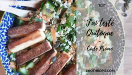 TEST : Une semaine de repas avec Quitoque - Code promo