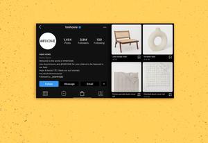 H&M Home Instagram Profile