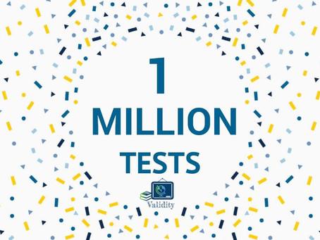 One Million Tests!