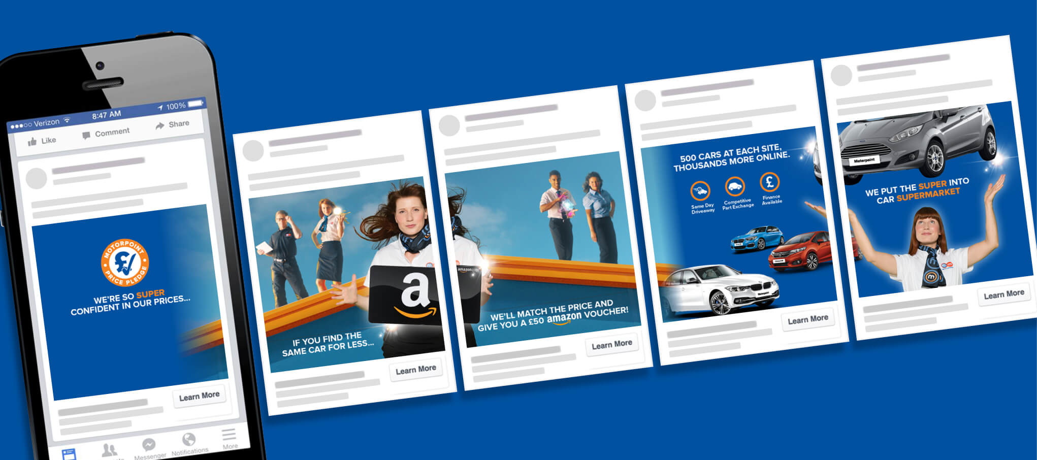 Put the Super into Car Supermarket facebook carousel