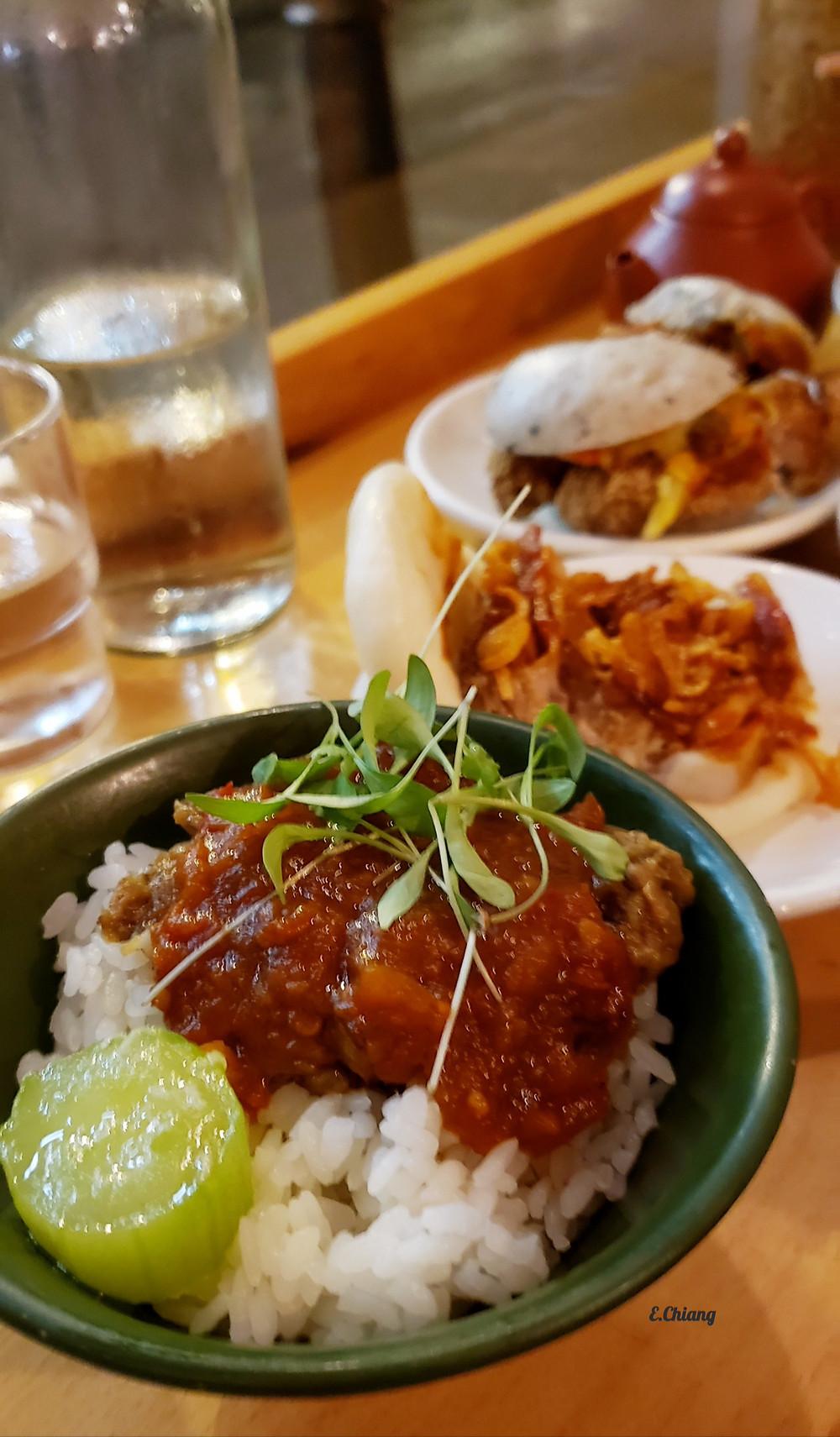 Guinea Fowl Chi Shiang Rice
