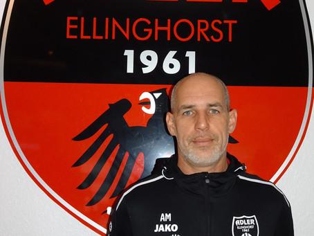 Adler fragt.. Trainer André Marcussen