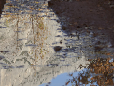 Sainte Victoire reflets
