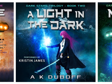 Dark Stars Trilogy audiobooks!
