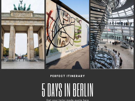5 Day Berlin Itinerary: The Perfect Itinerary for Your First Visit