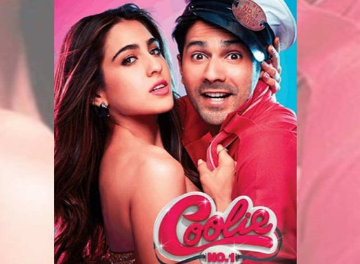 Coolie No. 1' first look: Sara Ali Khan's glam-chic avatar and Varun Dhawan's coolie do look promisi
