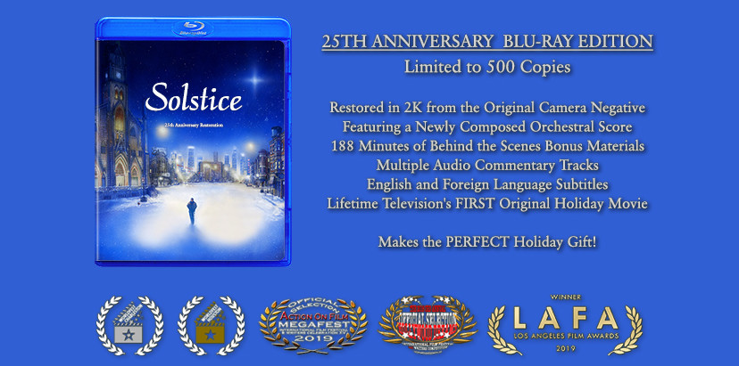 """""""Solstice"""" Blu-Ray Featuring 236 Minutes of Material Coming in December, Reserve Yours at Indiegogo!"""