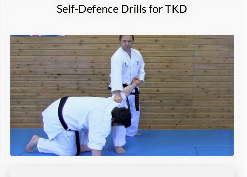 This is a fantastic course for TKD lovers to get the most from the self defence in their forms/patterns