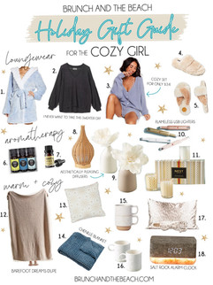 Holiday Gift Guide for the Cozy Girl