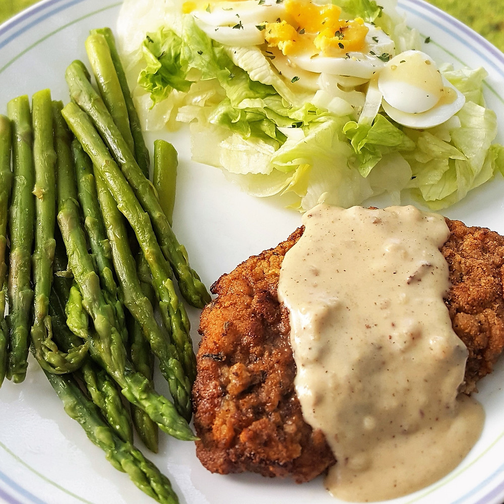 Chicken Fried Steak & Gravy | Low Carb | Country Fried Steak