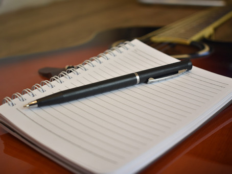 Songwriting Challenge:  A Letter to my friend