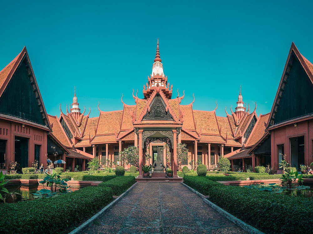 The National Museum of Cambodia in Phnom Penh