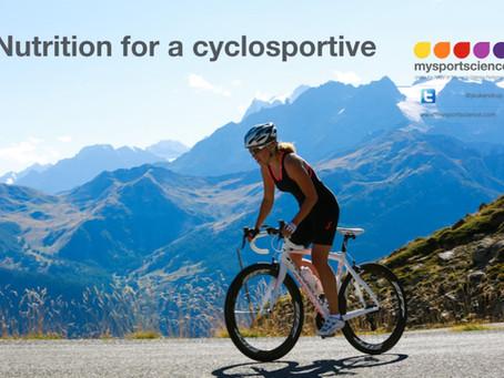 Nutrition for a cyclosportive