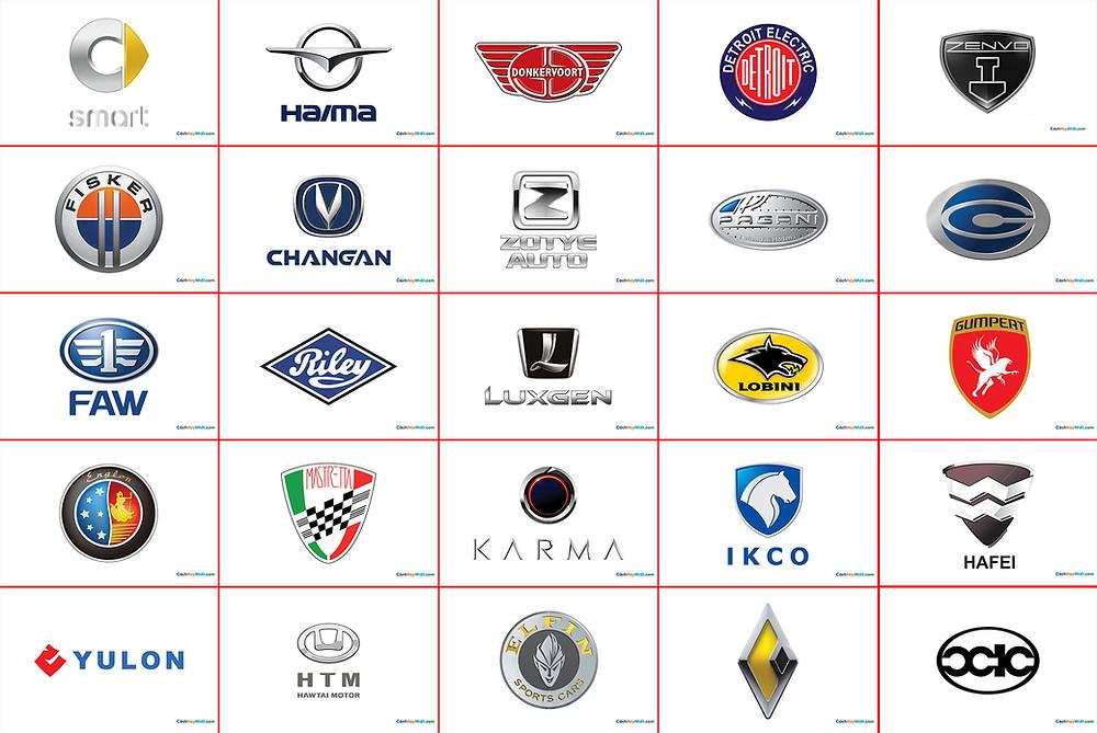 100 logo các hãng xe hơi nổi tiếng thế giới File Vector PDF PNG 3D Phần 04