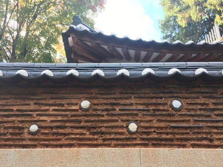 Baek In-je House: erosion checks, water-resistant earth construction technique