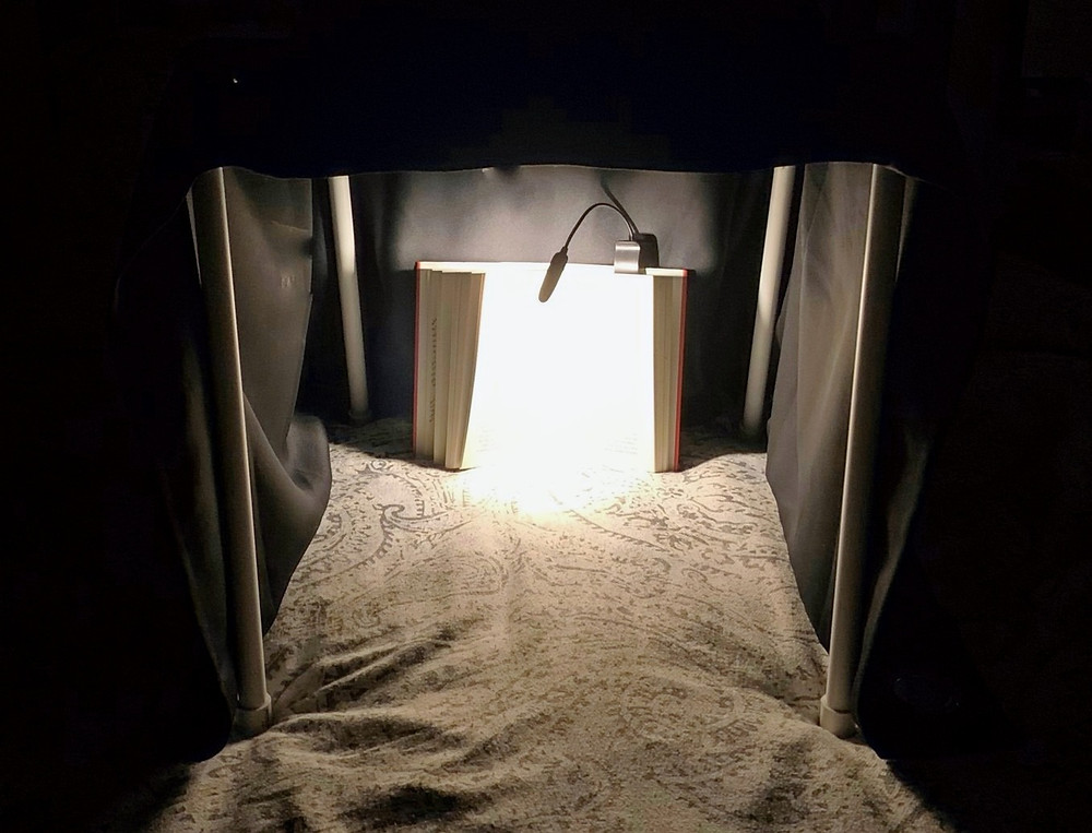 Night Nook for reading at night in bed