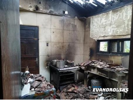 Incêndio atinge refeitório de UPA em Brejo da Madre de Deus