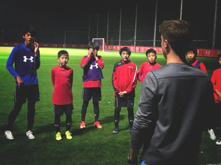 Iwaki fc academy progress