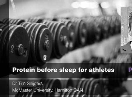 Protein and sleep: Part 2