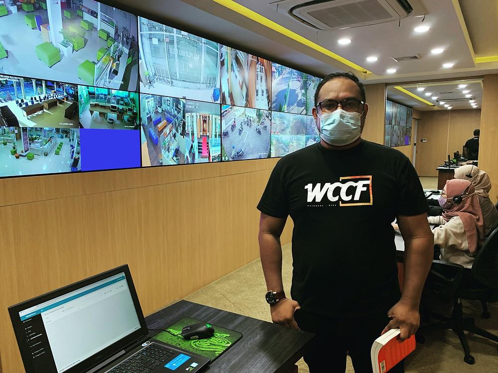 Command Center Kabupaten Banyuwangi, terkoneksi dengan 300 lebih CCTV di seluruh fasilitas publik dan jalur utama Kabupaten Banyuwangi.