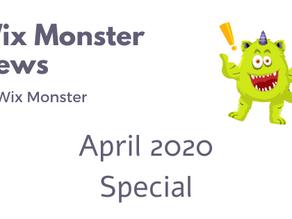 מה חדש בוויקס - אפריל 2020 - מהדורה מיוחדת