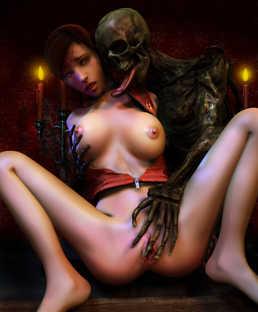resident evil naked