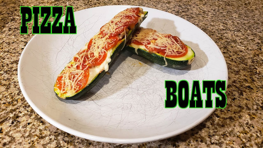 Keto Pizza Boat Recipe