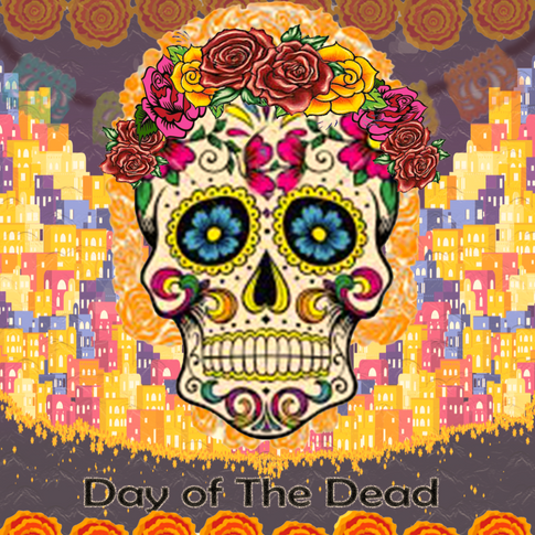 Sarah, Photoshop of Day of The Dead