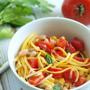 Summer Squash Noodle Salad
