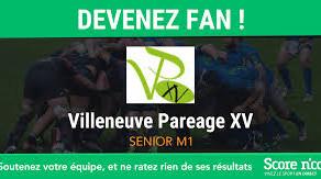100 % SPORT ARIEGE ... seul VILLENEUVE du PAREAGE 15 qualifie ses 2 équipes en 1/2 finale ...