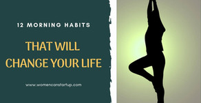 12 Morning Habits That Will Change Your Life