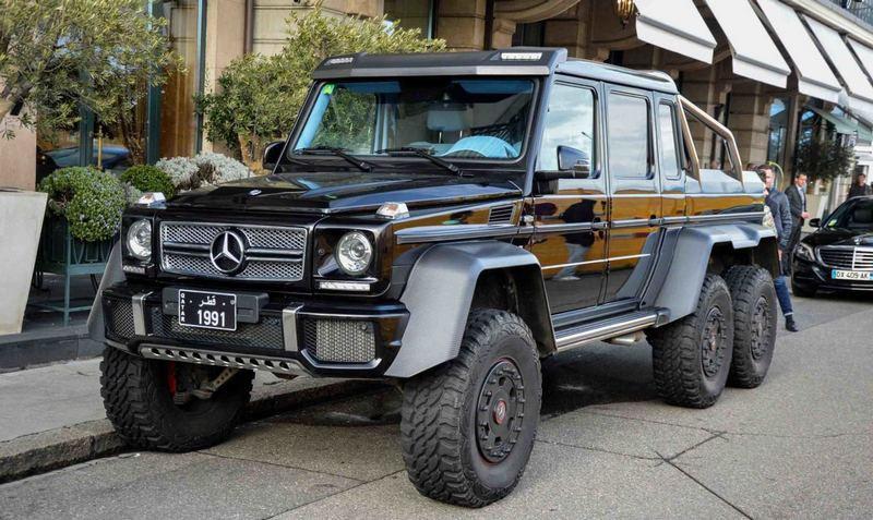 Mercedes-Benz G 63 AMG 6x6 | Rock Auto Club