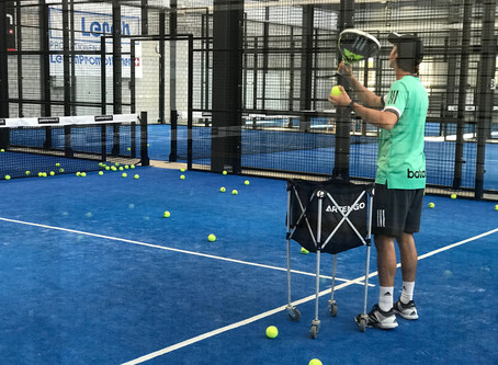 Padel Training mit  Top Padeltrainer