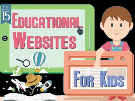 Educational Websites for Kids During COVID-19 Break