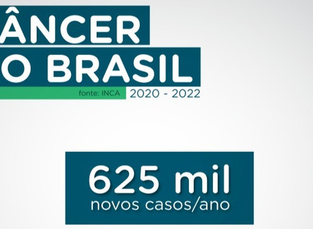 Inca divulga que Brasil poderá ter 625 mil novos casos de câncer ao ano entre 2020 e 2022