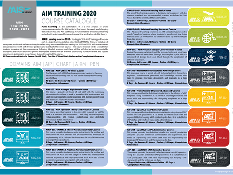 MAIS Learning New Courses for 2020-2021!