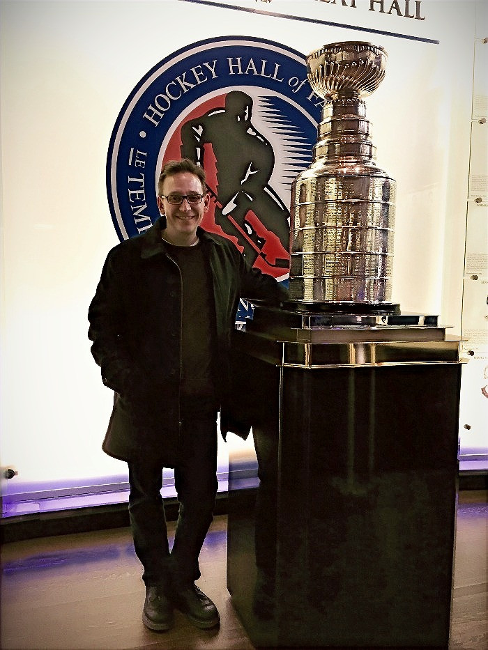 FerdaDeals.com founder with Lord Stanley's cup