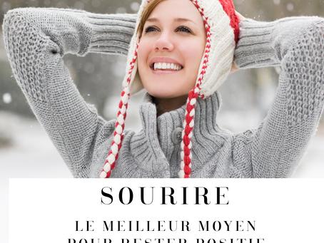 Sourire, le meilleur moyen pour rester positif en hiver / The best way to stay positive in  winter