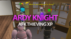 thieving ardy knights osrs