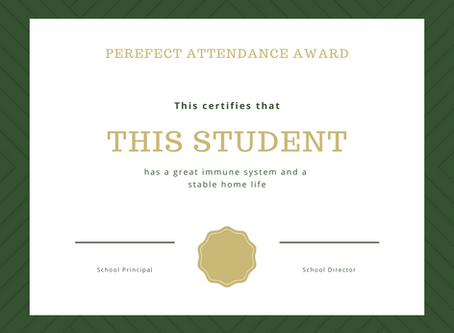 It's Time to End Perfect Attendance Awards