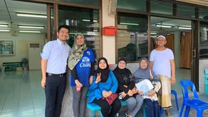 バンコクのコミュニティ訪問