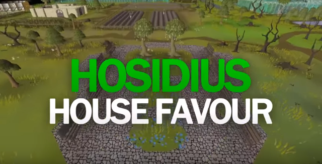 100% Hosidius House Favour Guide (OSRS)