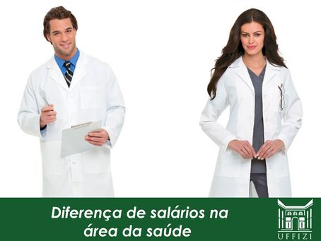 Diferença de salários na área da saúde