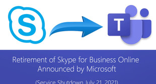 Retirement of Skype for Business Online Announced by Microsoft