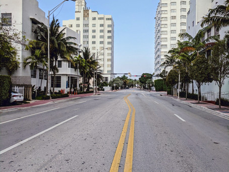 An Eerie Feeling: The Buzz of Miami Beach is All Gone